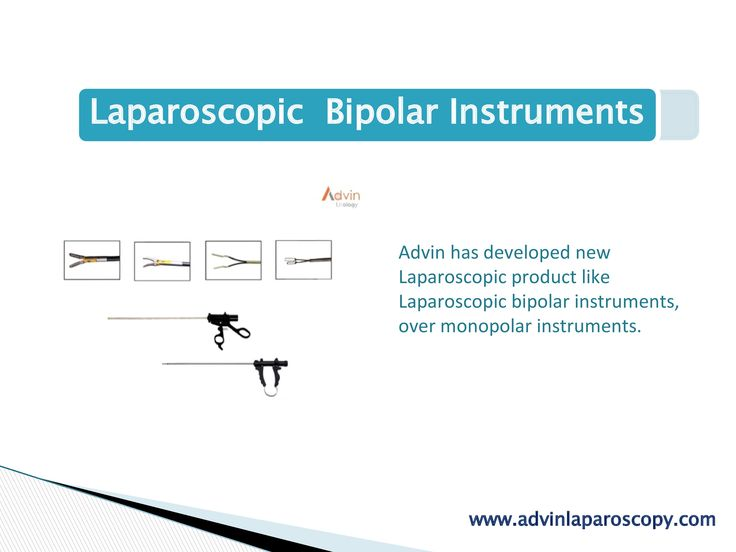Advin has developed new Laparoscopic product like Laparoscopic bipolar instruments, over monopolar instruments.  The classic bipolar instrument is the Kleppinger bipolar forceps used most commonly for laparoscopic tubal sterilization and hemostasis of vascular pedicles. Bipolar forceps allow for firm grasping and reliable coagulation of vessels less than 3 mm in size Laparoscopic bipolar Forcep is available in different handle and tips.