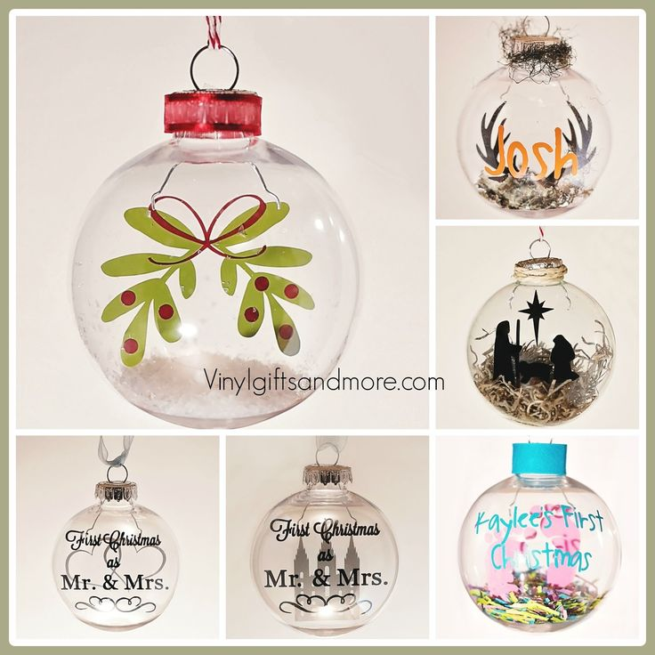 Namse Ornament With Vinyl Cricut Jerusalem House