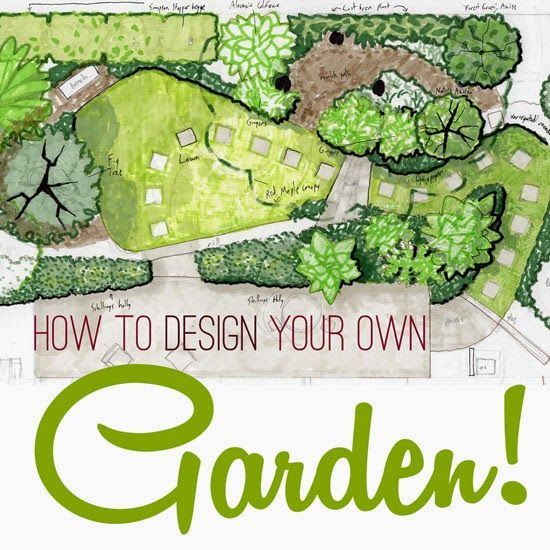 article with some nice tips on designing your own garden