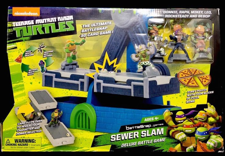 Teenage Mutant Ninja Turtles Battlesnap Sewer Slam Deluxe Battle Game **NEW** #NickelodeonTeenageMutantNinjaTurtles