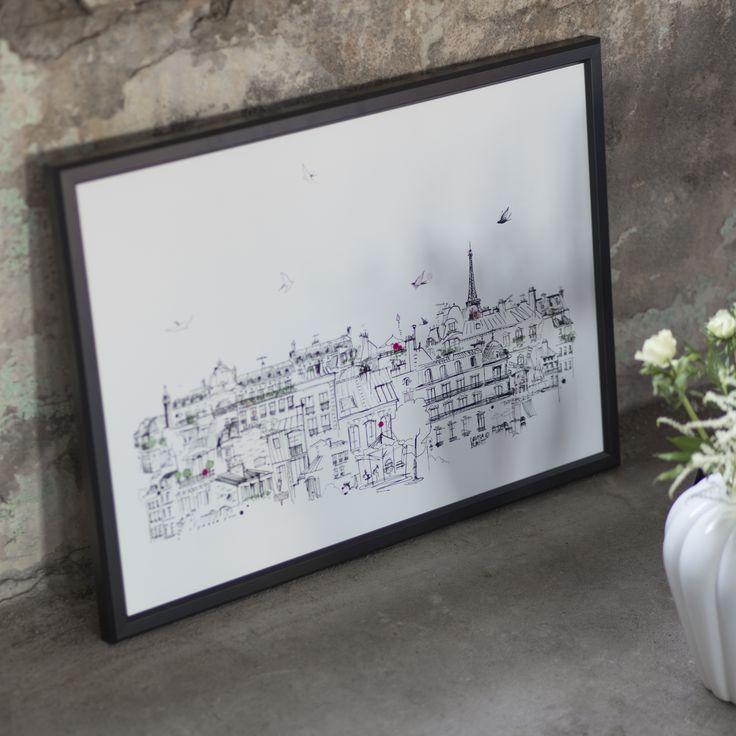 Poster Ciel Paris från kollektionen Paris, please by Lovisa Burfitt.