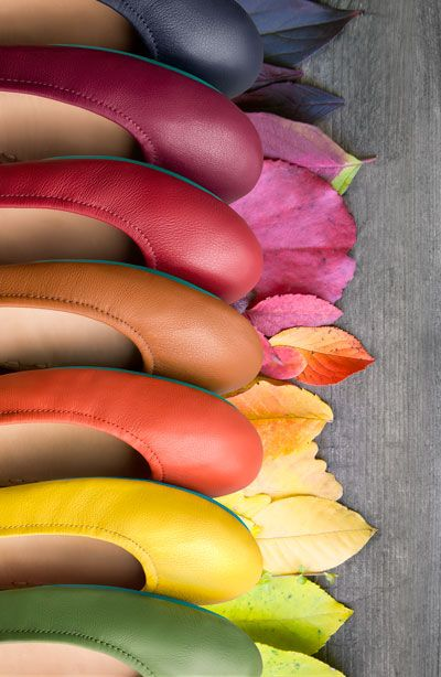Color is calling! Tieks Ballet Flats are the perfect addition to any wardrobe.