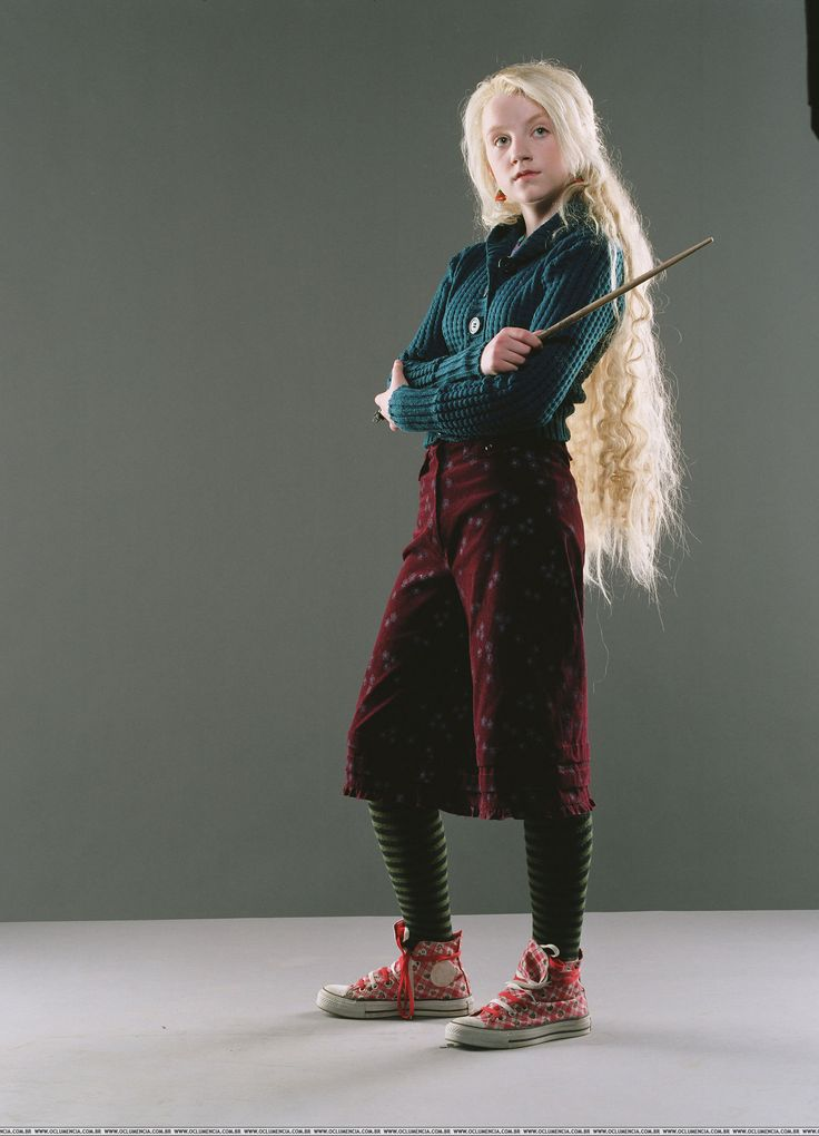 luna harry potter Evanna Lynch Harry Potter and the Order of the Phoenix