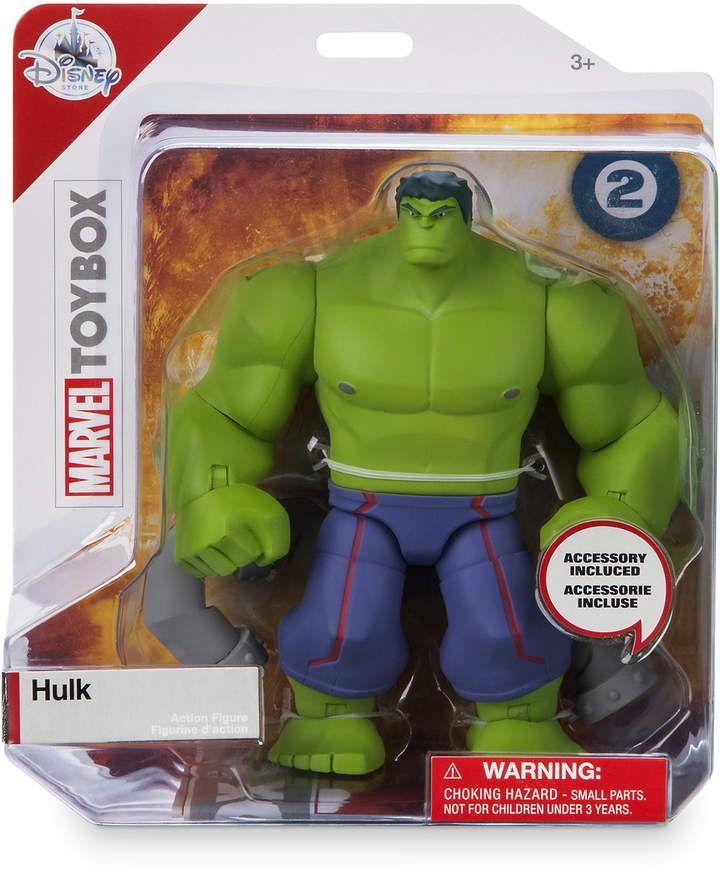 Hulk Action Figure - Marvel Toybox #marvel #hulk #affiliate