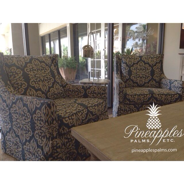 Blue Amp White Chairs Available At Pineapples Palms Etc In