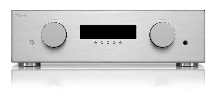 The AVM Evolution A5.2, a powerful integrated amplifier with tube line stage. A modern approach to using valves, with AVM's own custom made tubes. Powerful, dynamic...and sweet!