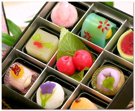 Must taste flavours: Japanese Sweets, wagashi