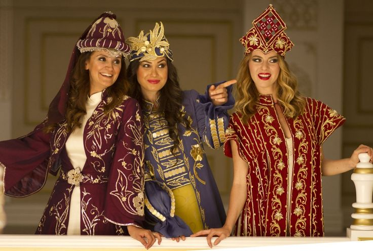 Ottoman palace , modern clothing design...Ankara Olgunlaşma Enstitüsü