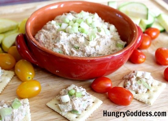Smoked Fish Dip with Kippers from King Oscar by The Hungry Goddess