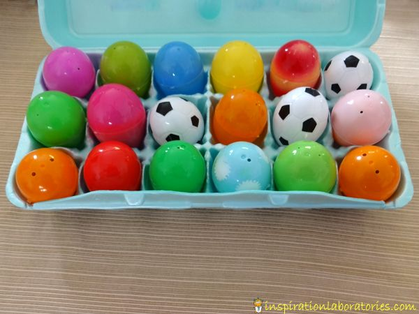 LISTENING: Practice Listening Skills with Sound Eggs. Tis is a great creative language art activities for younger students.