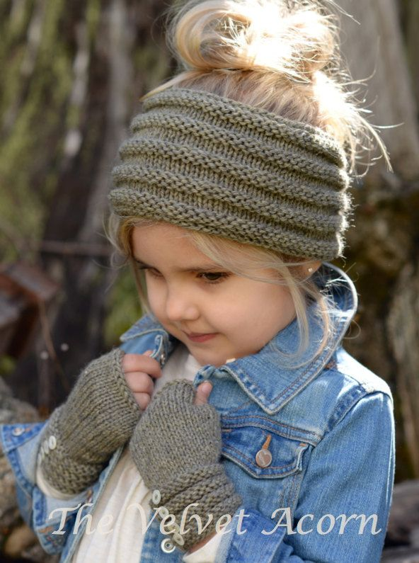 KNITTING PATTERN-The Ridgelyn Set Toddler Child by Thevelvetacorn