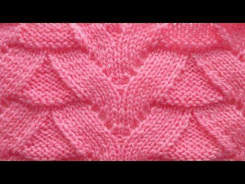 Узор спицами для свитера, кардигана | узоры для вязания | Постила