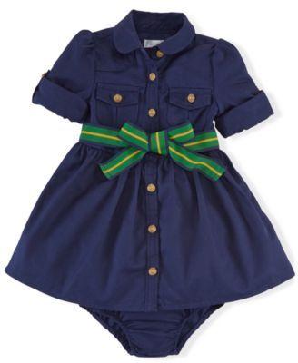 Ralph Lauren Baby Girls' Chino Set