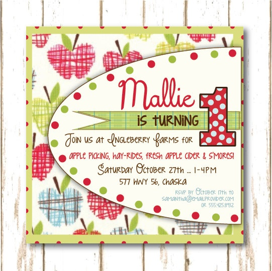 I've sold 5 of these in the last couple of weeks ... lots of apple orchard parties planned for this fall!