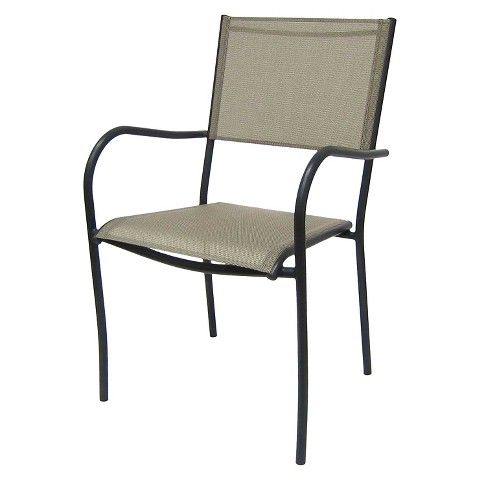 Room Essentials Stack Sling Chair Tan For The Patio
