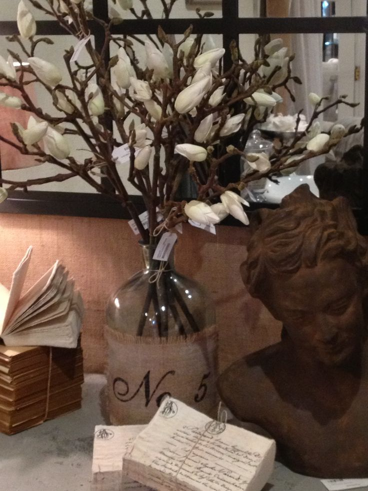 Gorgeous Vignette styled by Leigh Murphy for Villa Maison