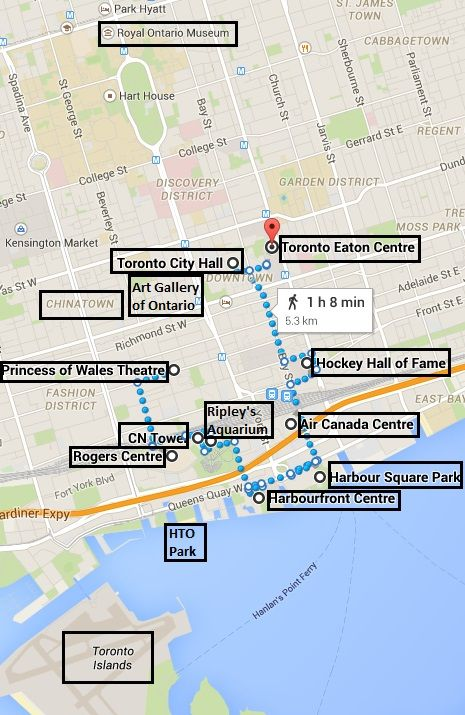 10 Things To Do within Walking Distance in Toronto Downtown