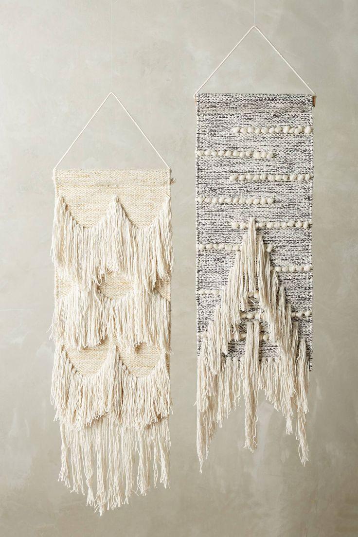 Hanging bed anthropologie - Ojai Fringed Wall Art
