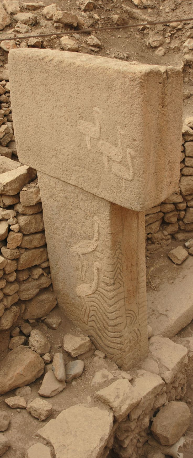 Göbeklitepe- Urfa, 9600 BC (11.600 years ago) photography: Erdinç Bakla (2012) - Watched History Chanel show on these last night.