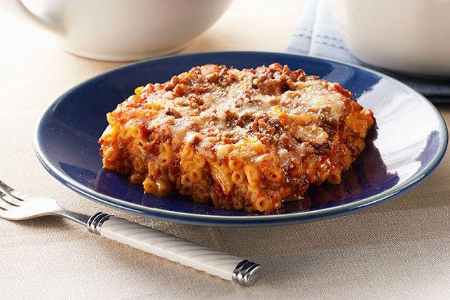 Lasagne au macaroni et au fromage Image 1