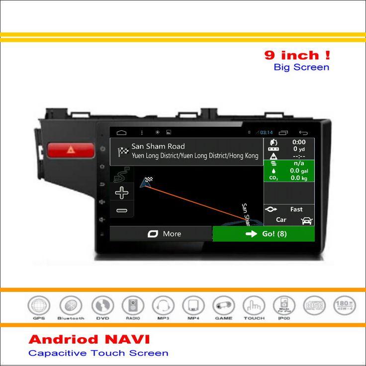 Car Android GPS Navi Navigation System For Honda Fit Jazz