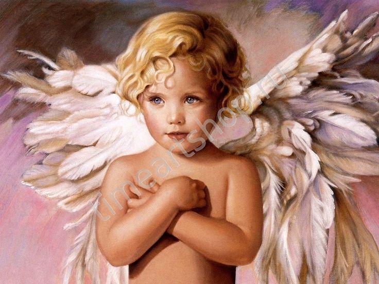 "Nancy Noel.""Ангелочек"", картина раскраска по номерам, картина своими руками, размер 40*50см, цена 750 руб."