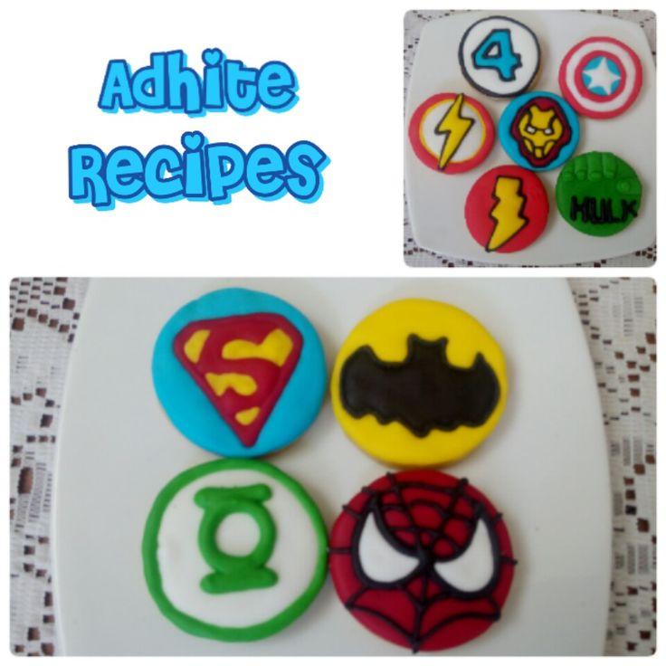 My superhero cookies collection
