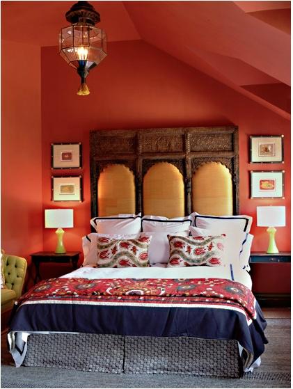 Katie Leede World Travelers Abode guest bedroom