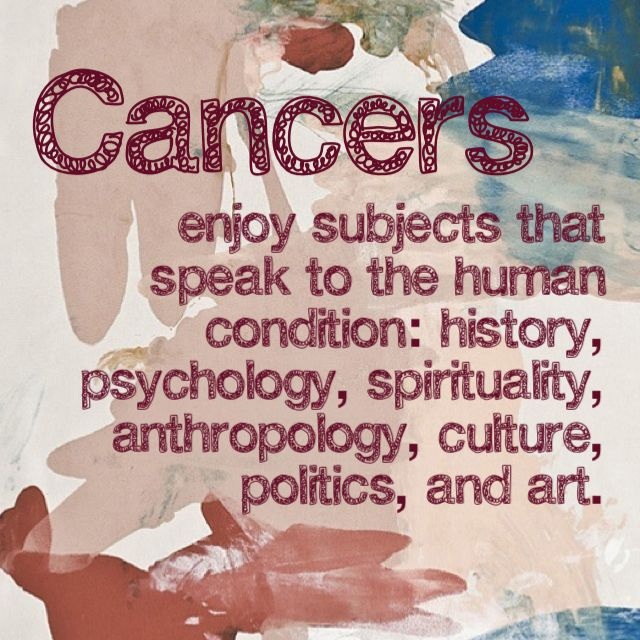 Cancer enjoys subjects that speak to the human condition.