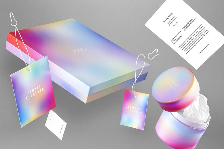 Brand identity and packaging for Bombay Electric by Michael Thorsby.