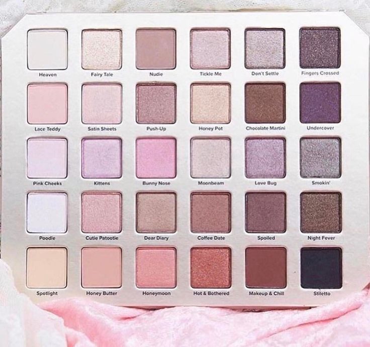 The NEW Too Faced Natural Love Eyeshadow Palette