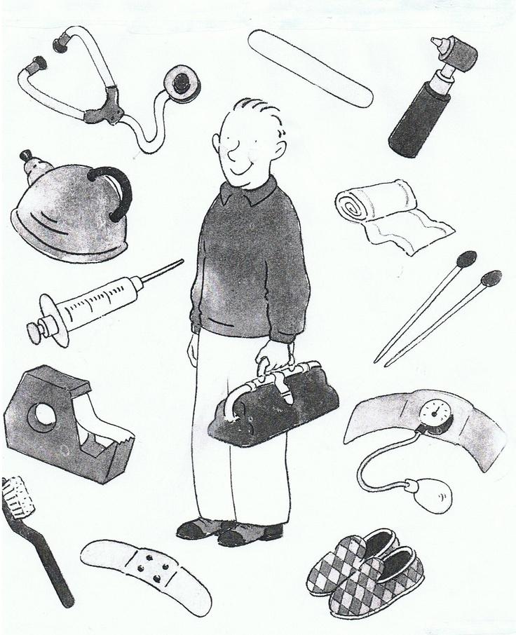Werkblad: Wat gebruikt de dokter allemaal?