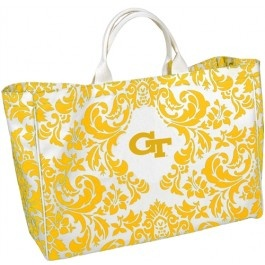 Cute @georgia lin. lin. Tech Damask City Tote to bring all the food & supplies for #tailgating! #gojackets