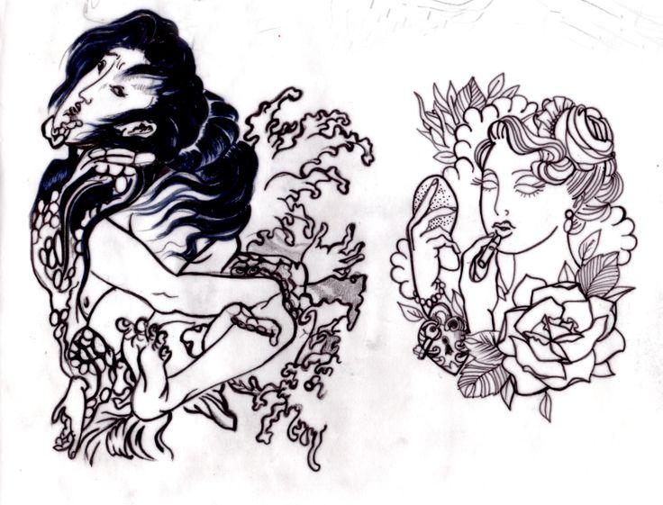 copy. tattoo by Maja Barańska