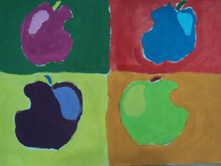 jabuke, pop art, 3.r.