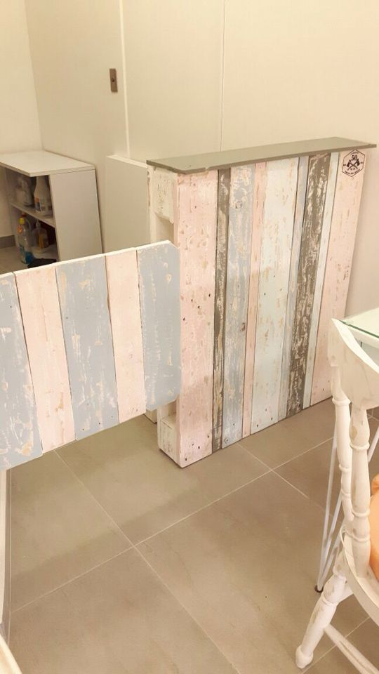 Barra decapada #spa #pallet #palet #estiba #50plusarch #diseño #reciclado
