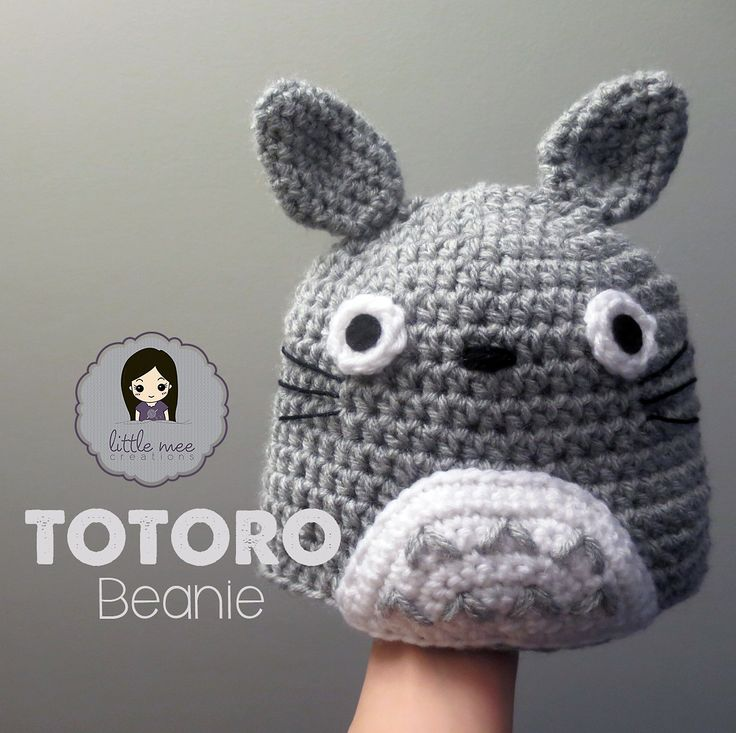 Knitting Pattern For Totoro Hat : 683 best images about Crochet Hats on Pinterest Free pattern, Free crochet ...