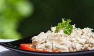 Salata de dovlecei cu maioneza si usturoi