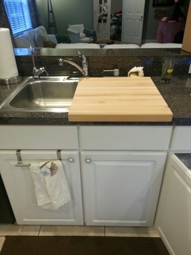 over the sink cutting board home pinterest cuttings cutting boards and the o 39 jays. Black Bedroom Furniture Sets. Home Design Ideas