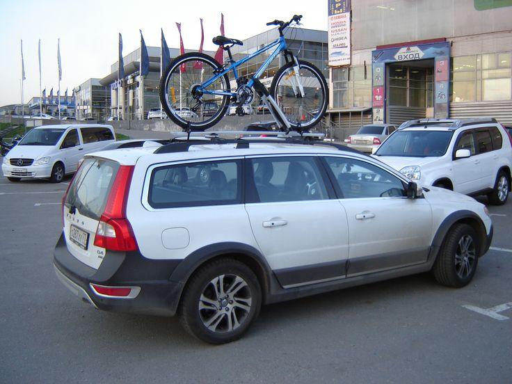 Volvo XC70  WB201 #rackworld #whispbar #yakima #Inno #Thule #Atlant #Lux #Buzzrack #автобагажник #автобокс