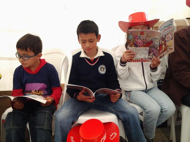 Con mis amiguitos, leo, descubro y vibro con la lectura de Pombo.