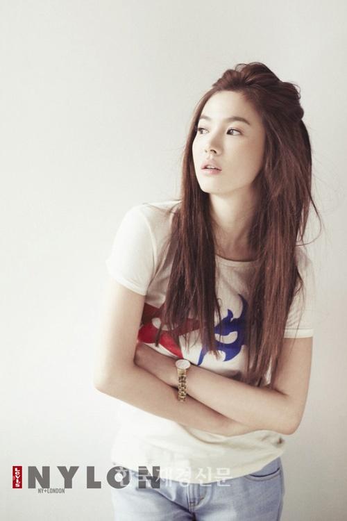 Korean Actress Song Hyegyo Makeup Amp Hair Song Hye Kyo