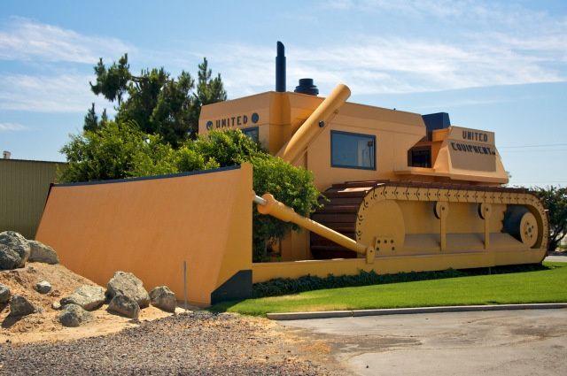 Headquarters of United Equipment Company (1976) Turlock, California