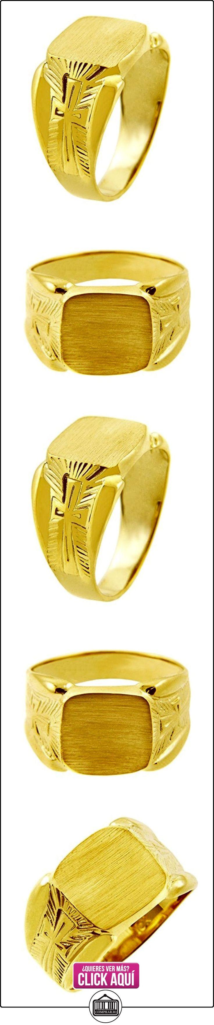 Pequeños Tesoros - Anillos Hombres Alianza De Boda 10 Kt Oro 471/1000 Sortija De sello  ✿ Joyas para hombres especiales - lujo ✿ ▬► Ver oferta: http://comprar.io/goto/B012783FT0
