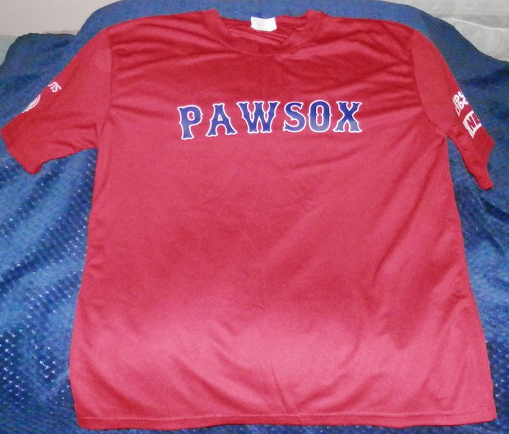 Mens XL Pawtucket Red Sox Game Hand Out Jersey #PawtucketRedSox #Jerseys