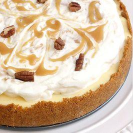 Caramel Apple and Pecan Cheesecake Pie Recipe