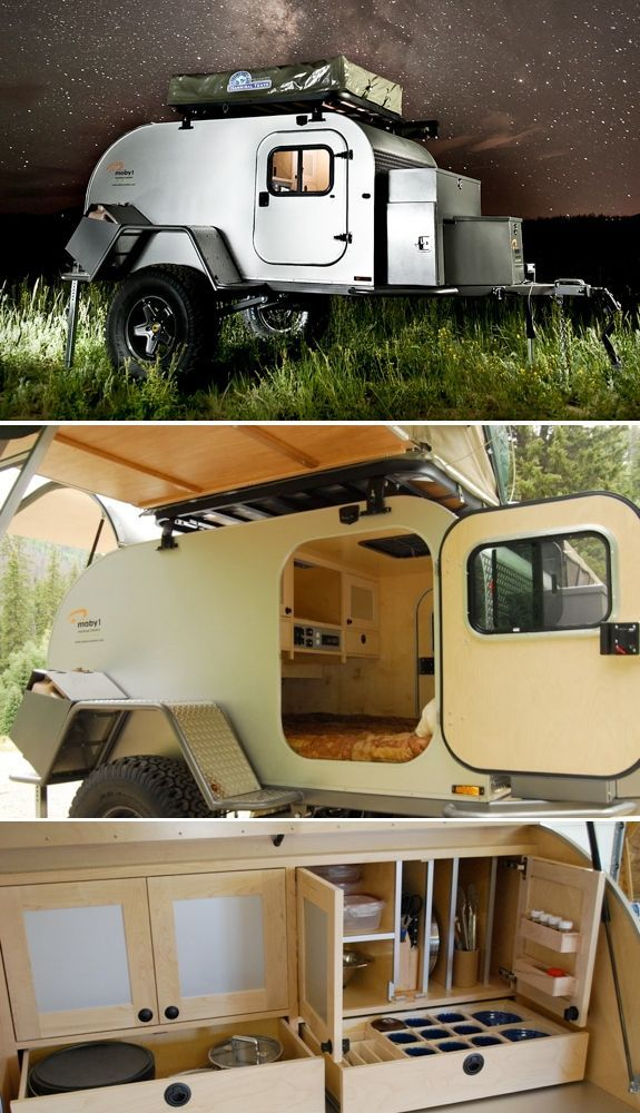 Cool Camping Trailers: Moby1 - - To connect with us, and our community of people from Australia and around the world, learning how to live large in small places, visit us at www.Facebook.com/TinyHousesAustralia or at www.tumblr.com/blog/tinyhousesaustralia #Camping