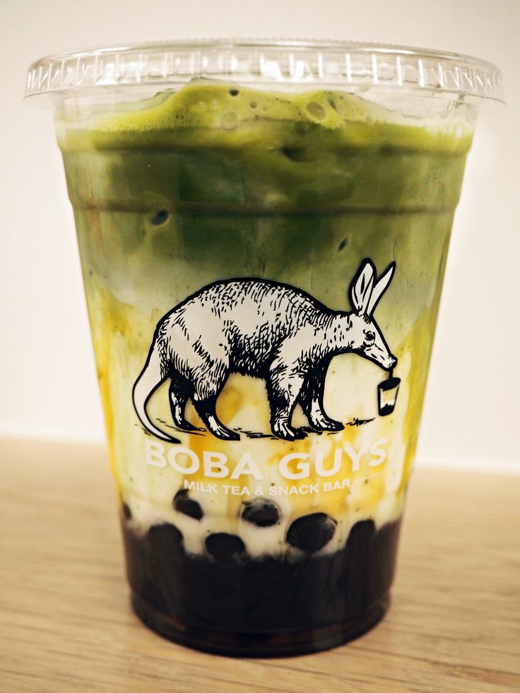 Green Matcha bubble tea from Boba Guys NYC  http://styledupstate.com/crazy-for-boba-guys/