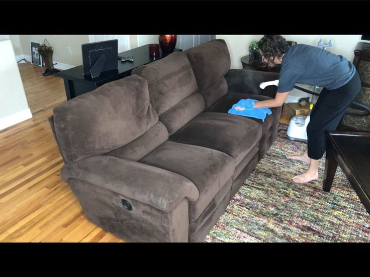 How To Deep Clean Your Couch DIY Steam clean couch