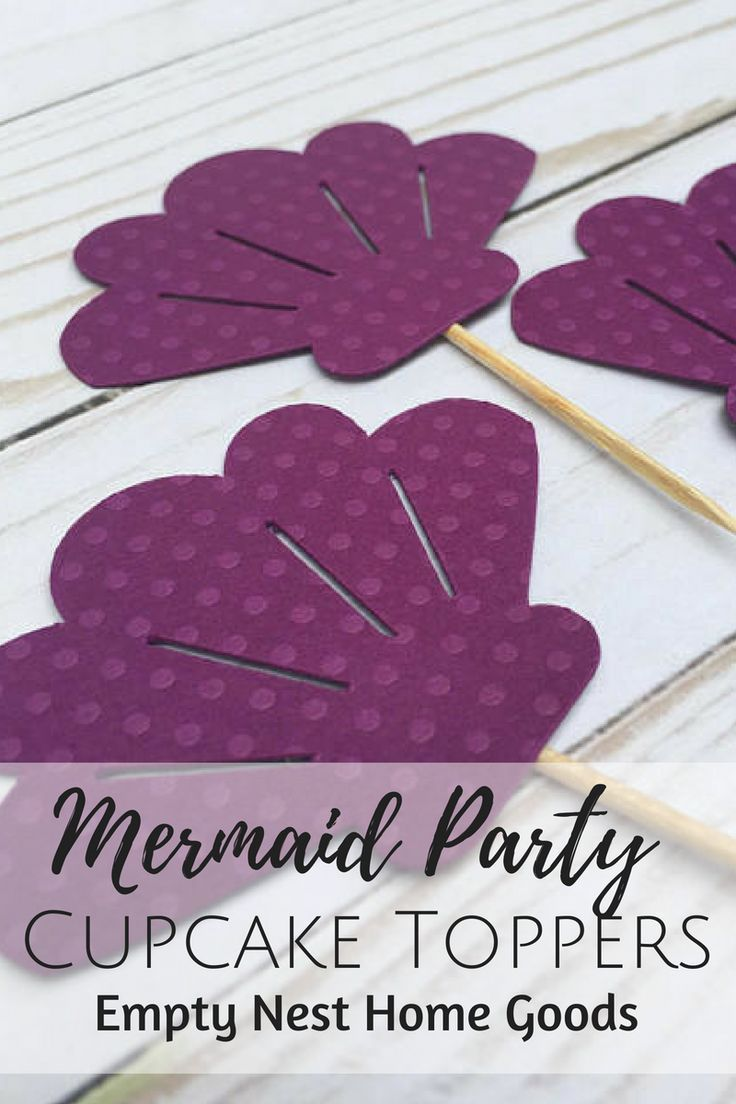 Mermaid Party Ideas Under The Sea Nautical Decor Tail Cupcake Toppers Starfish S Beach Wedding Favors In
